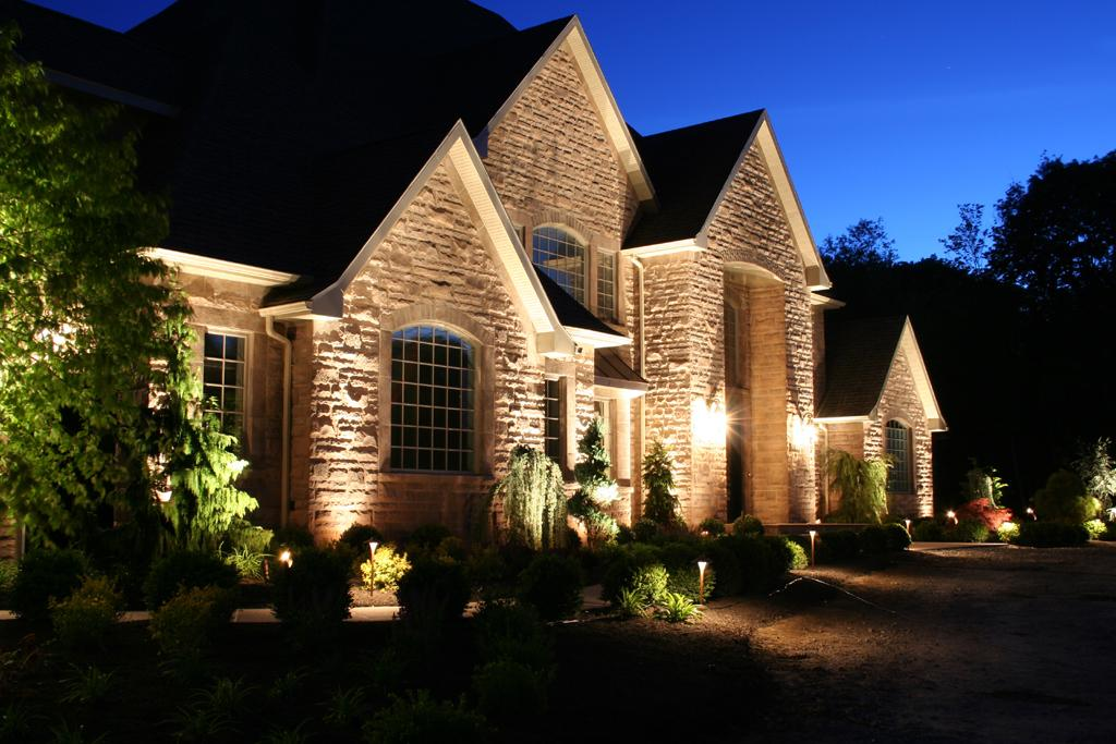 Outdoor Landscape Lighting Greene Ociates
